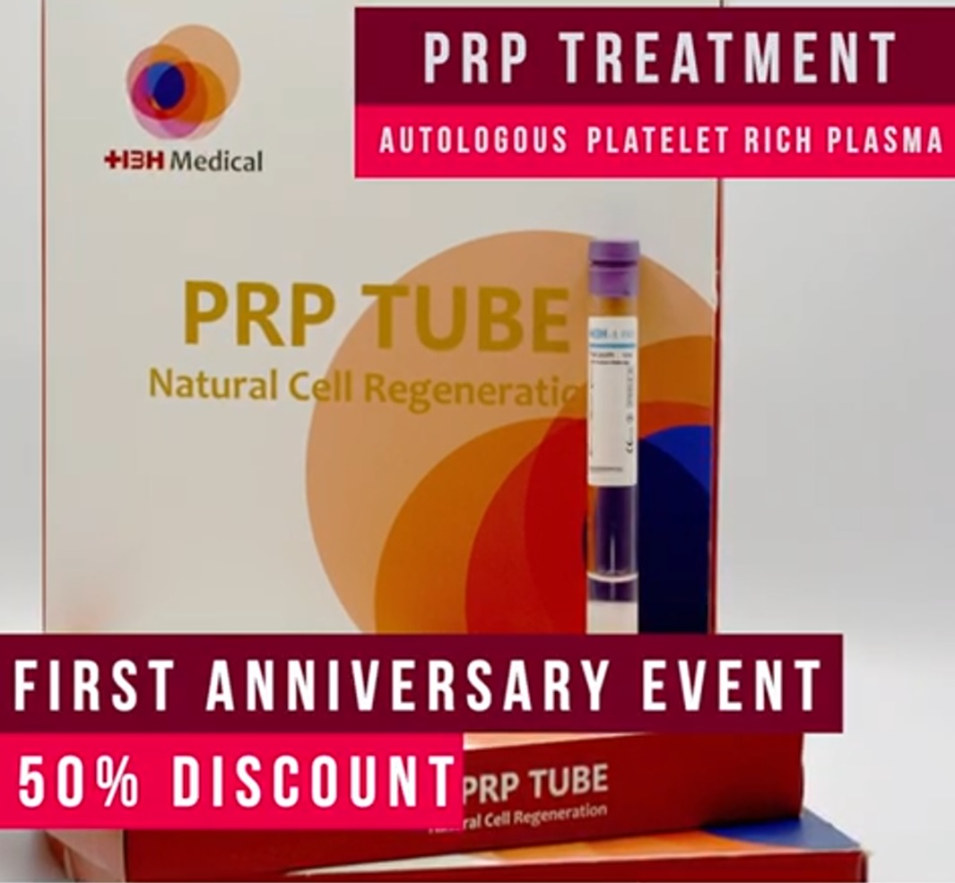PRP Platelet Rich Plasma Therapy